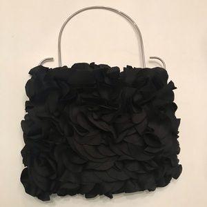 Black fabric purse